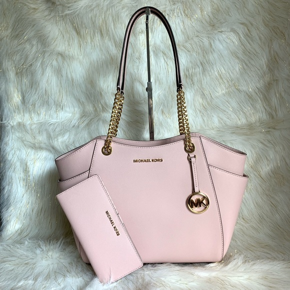 Michael Kors Handbags - Michael Kors JETSET CHAIN SHOULDER BAG W/WALLET